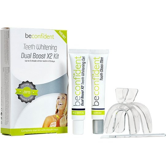 Teeth Whitening Dual Boost X2 Kit, 20 ml beconfiDent Hampaiden valkaisu