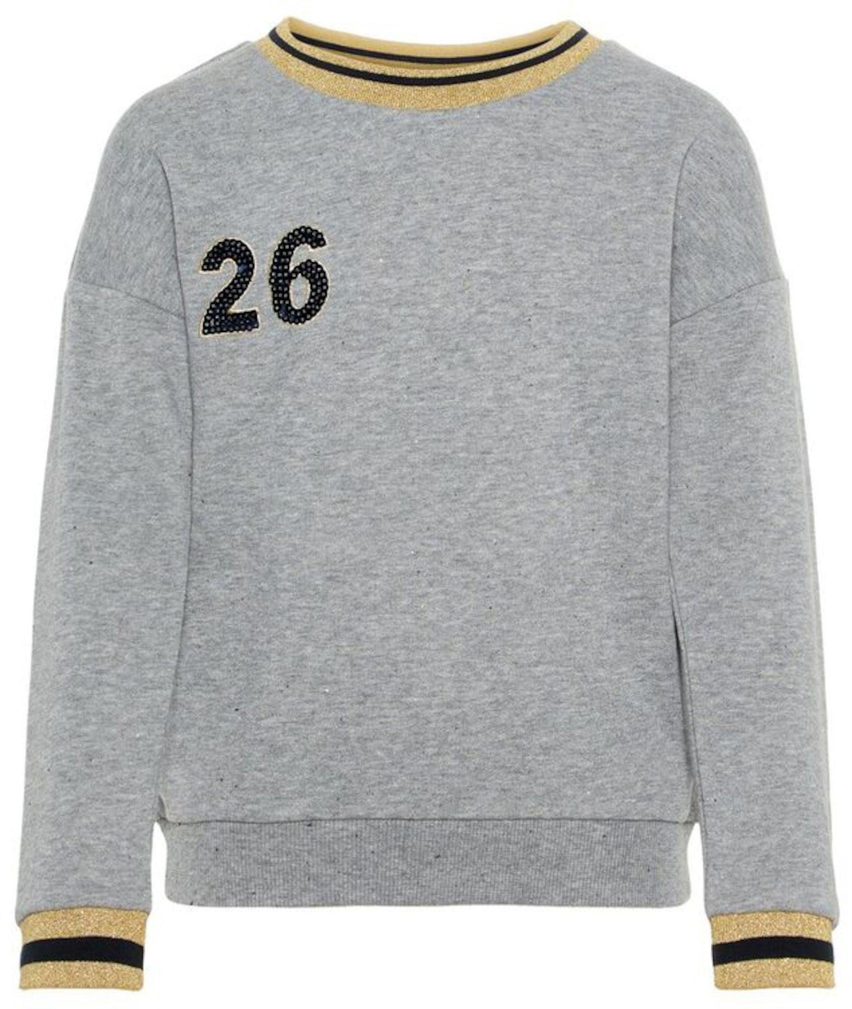Name it Sweatshirt, Grey Melange 122/128