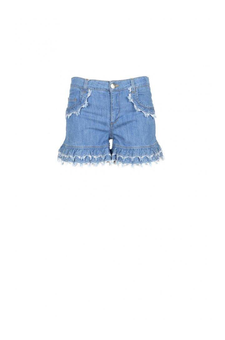 Boutique Moschino Women's Short 172073 - blue 38