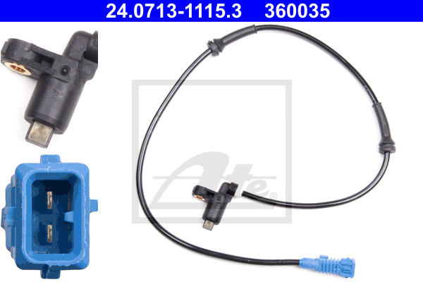 ABS-anturi ATE 24.0713-1115.3