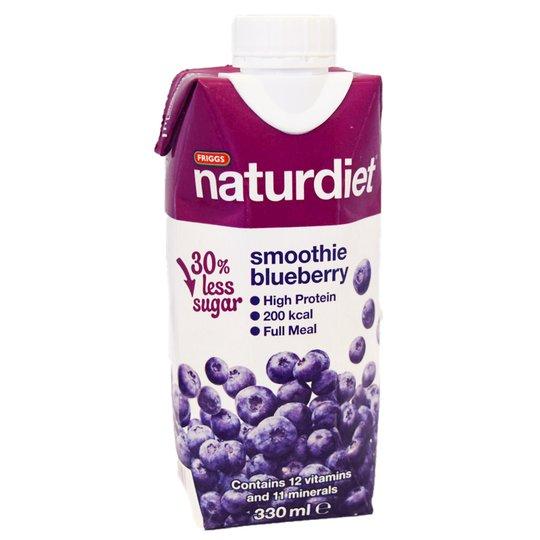 Naturdiet Smoothie Blueberry - 25% rabatt