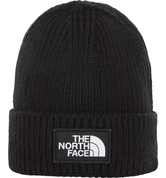 The North Face Logo Box Cuffed Beanie Mössor & Kepsar BLACK