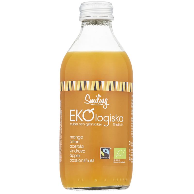 Eko Juice Acerola, Passionsfrukt & Mango 260ml - 37% rabatt