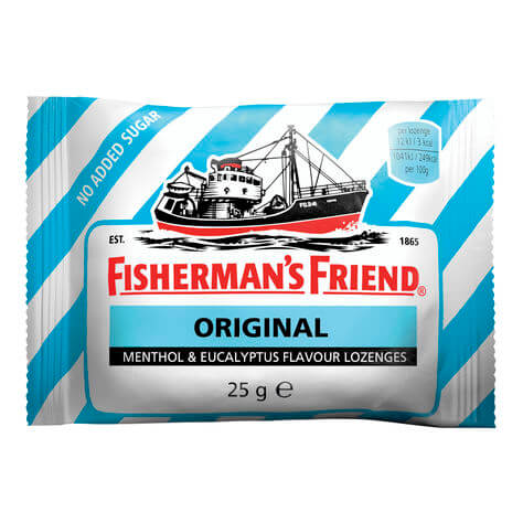 Fishermans Friend Original Sockerfri 25g