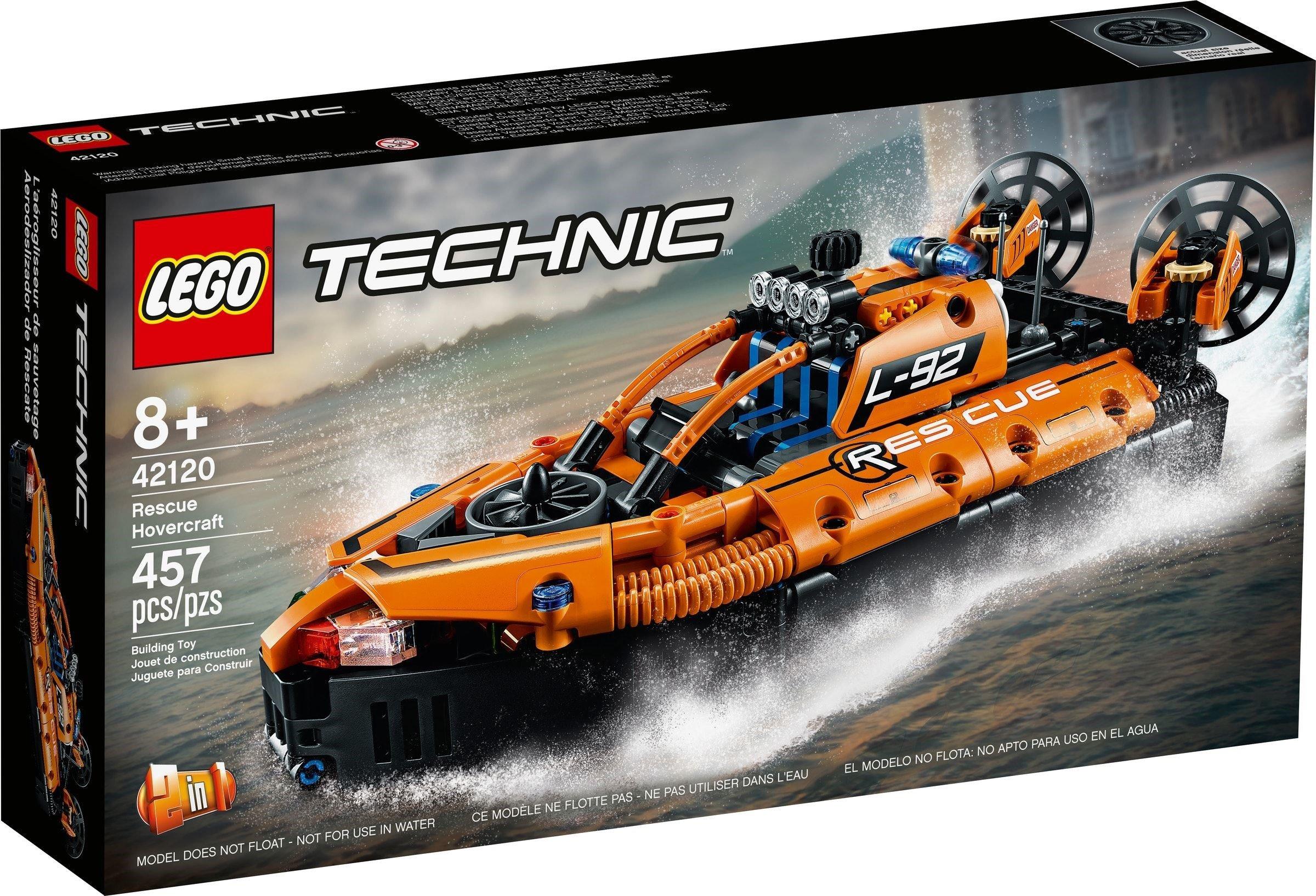 LEGO Technic - Rescue Hovercraft (42120)