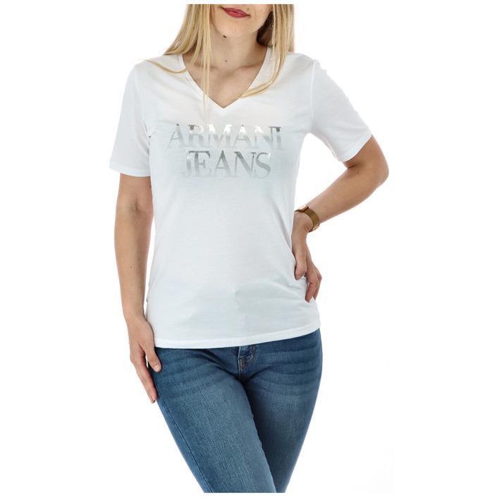 Armani Jeans Women's T-Shirt Various Colours 271608 - white XL