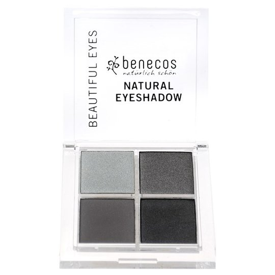 Benecos Natural Quattro Eyeshadow - Smokey Eyes, 8 g