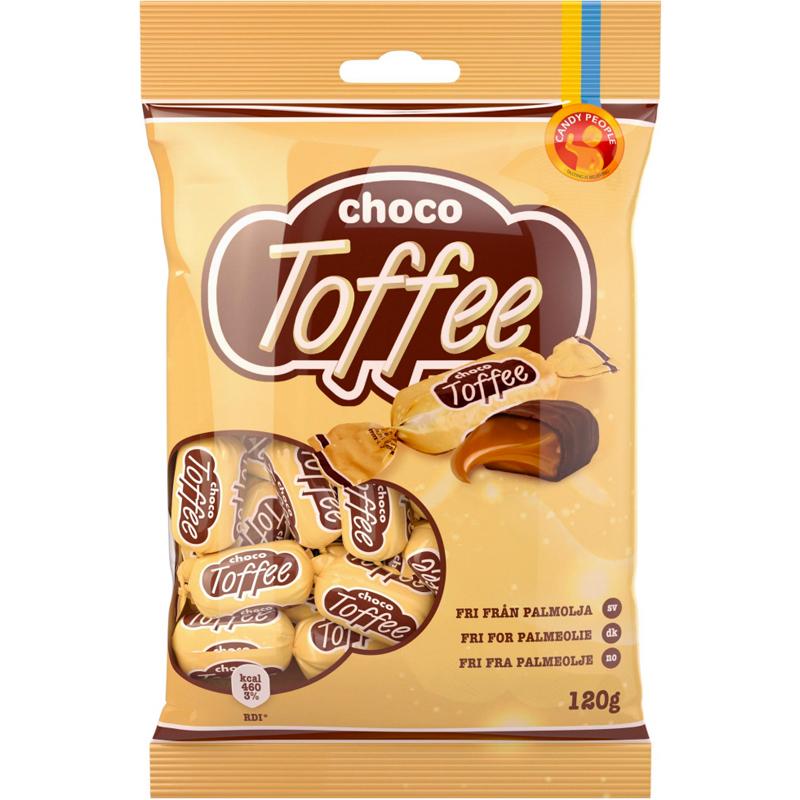 """Karameller """"Choco Toffee"""" 120g - 61% rabatt"""