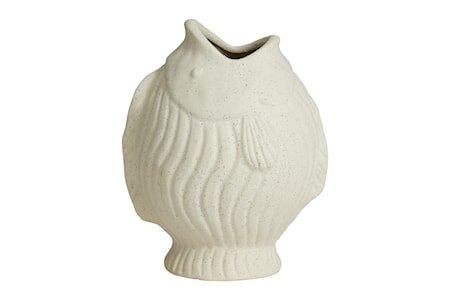 DUCIE Fish Vase L Hvit