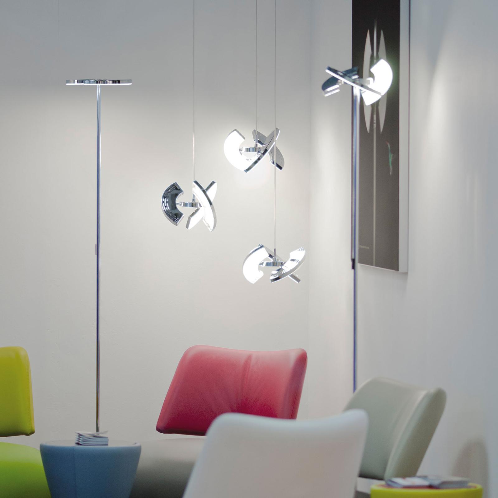 OLIGO Trinity LED-riippulamppu 3 siirrettävää osaa