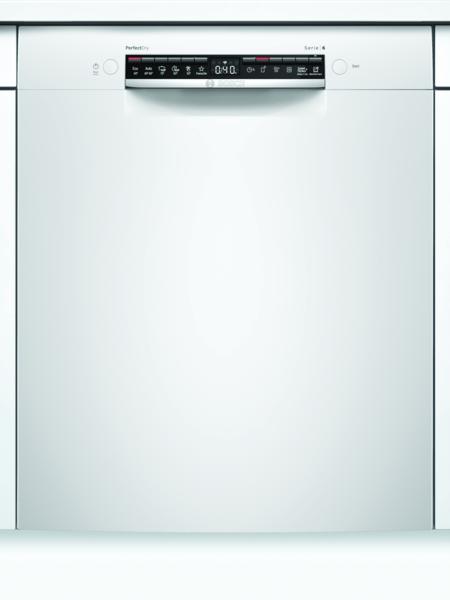 Bosch Smu6zaw00s Serie 6 Underbygg. Diskmaskin - Vit