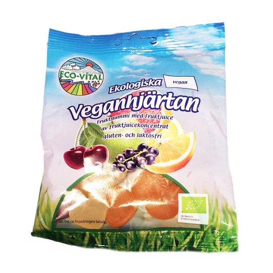 Vegaaniset karkkisydämet 90 g - 28% alennus