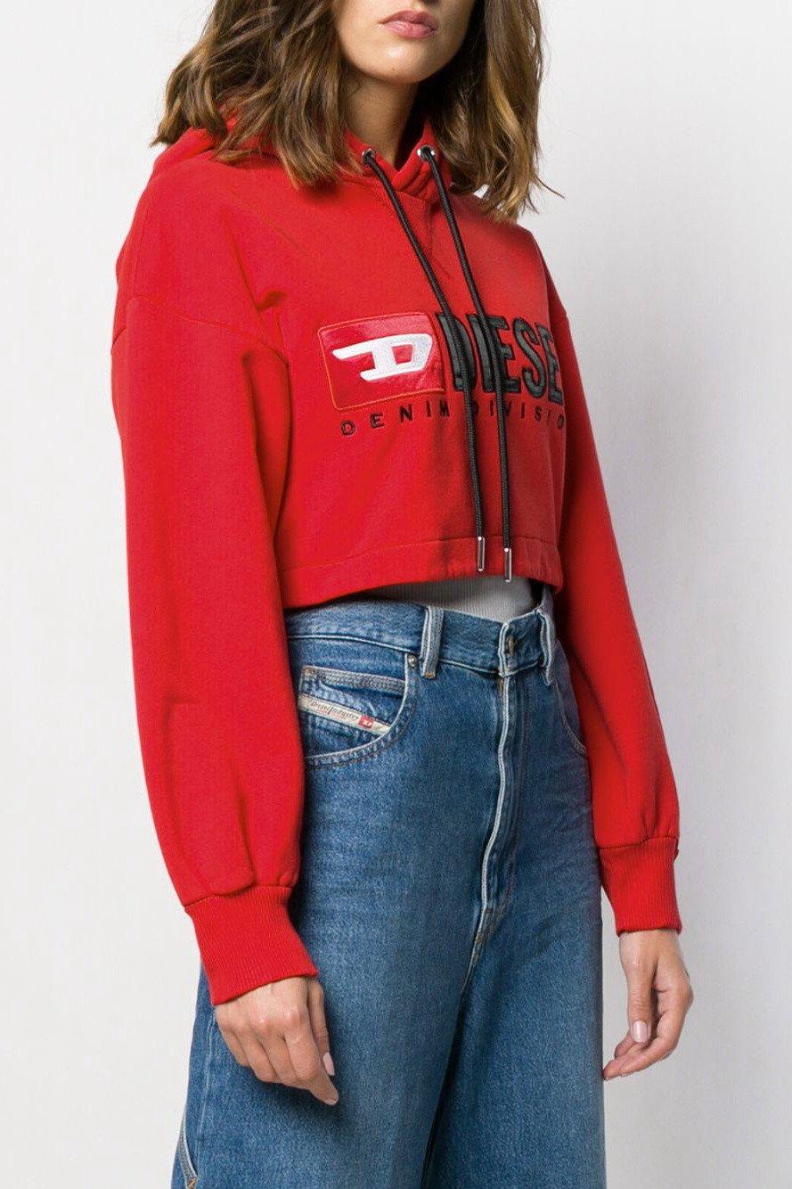 Diesel Women's Sweatshirt Various Colours 297886 - red S