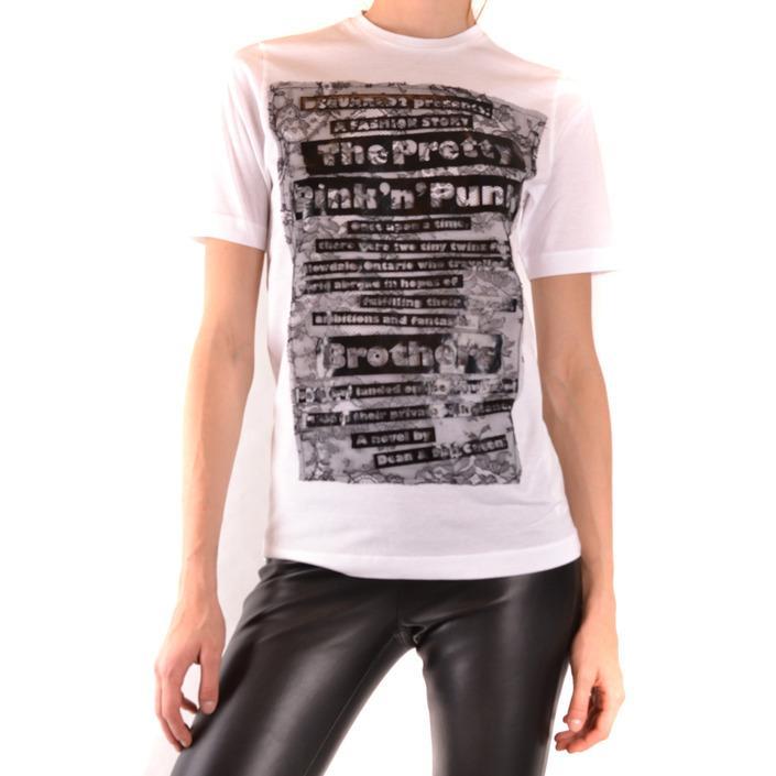 Dsquared Women's T-Shirt White 168861 - white XS
