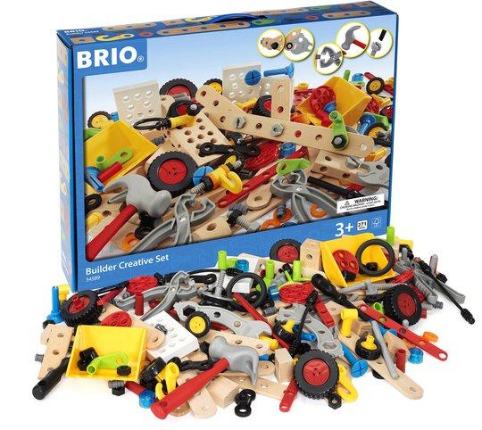 BRIO 34589 Byggesett Builder Kreativitetssett