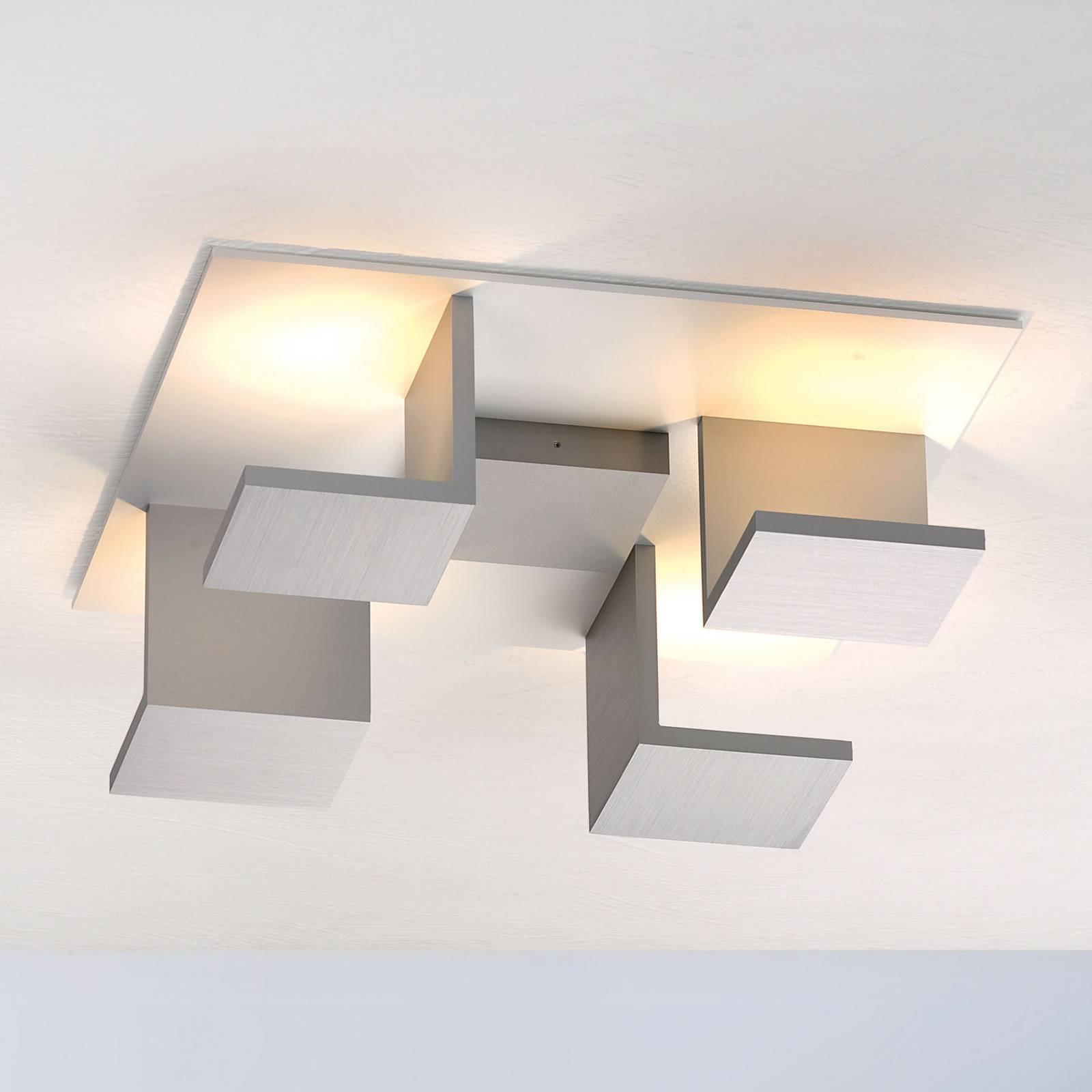 Bopp Reflections kattovalaisin neliö alumiini