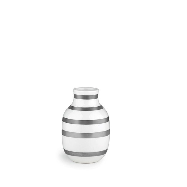 Kähler - Omaggio Vase Silver - Small (691790 )