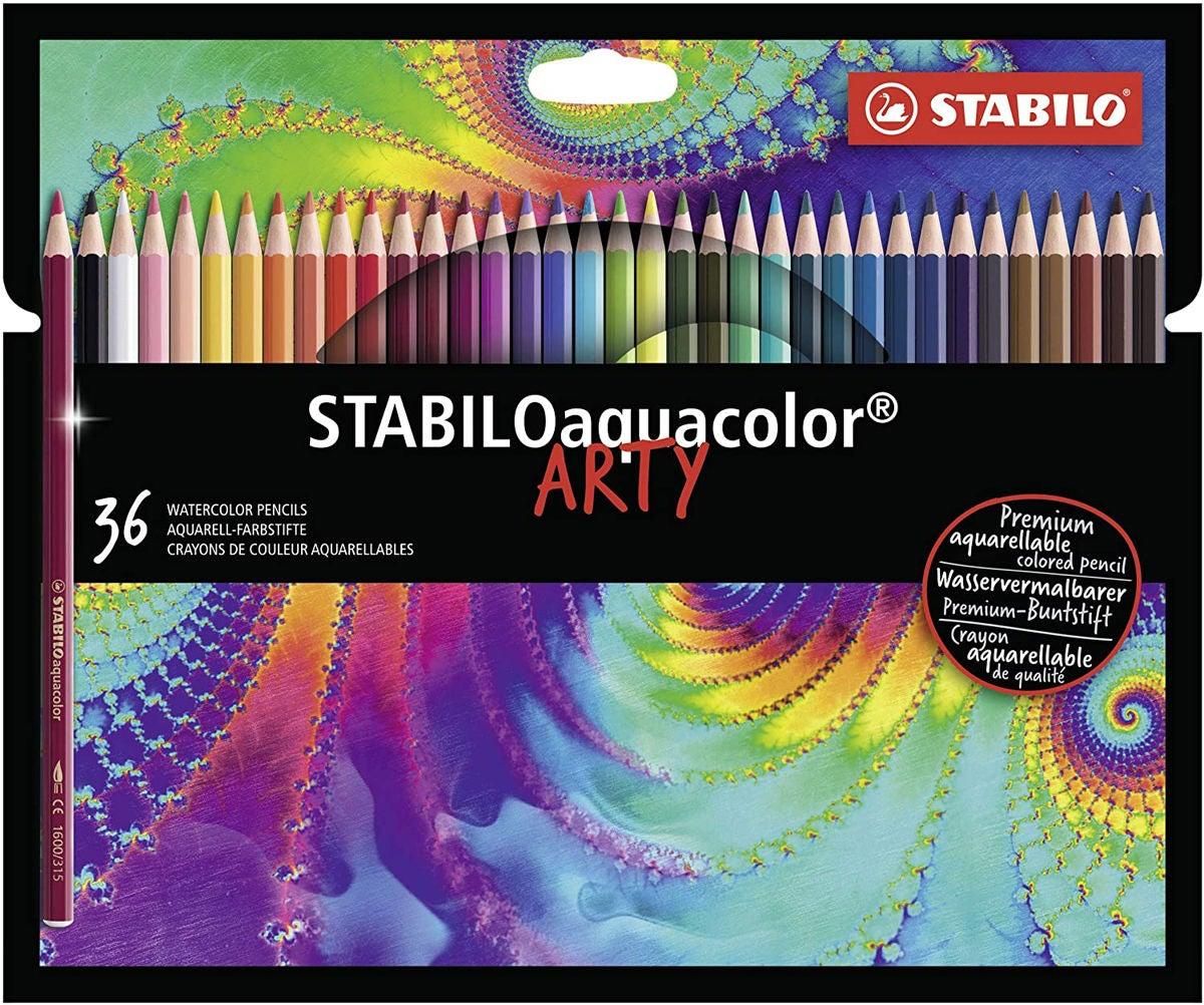 STABILO Akvarellpennor Arty 36-pack