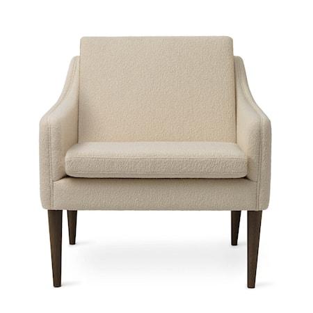 Mr. Olsen Lounge Chair Cream Smoked Ek
