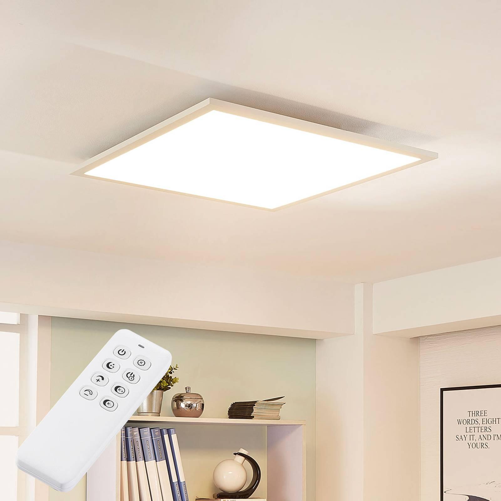 Arcchio Lysander-LED-paneeli CCT, 62 cm, valkoinen