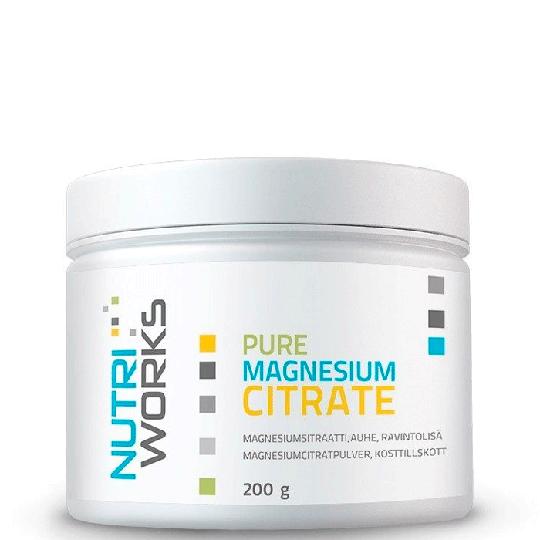 Pure magnesium citrate 200 g, Natural
