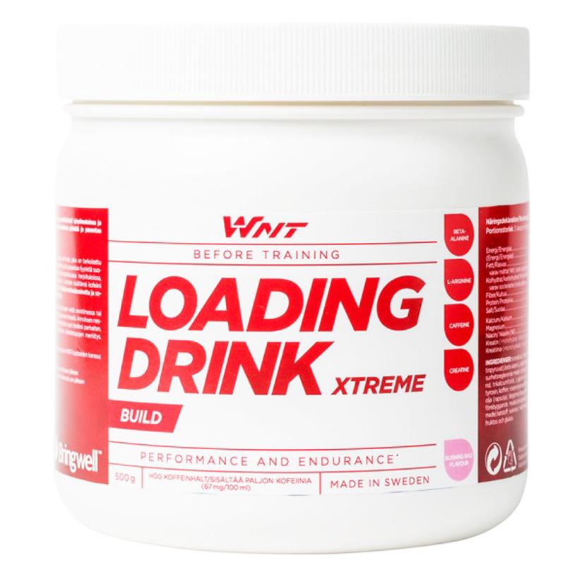 "Kreatinpulver ""Loading Drink Xtreme"" 500g - 50% rabatt"