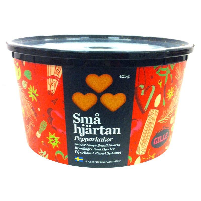 Pepparkakor Små Hjärtan 425g - 40% rabatt