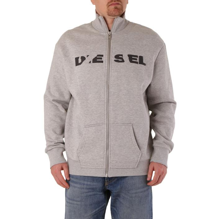 Diesel Men's Sweatshirt Grey 294018 - grey 2XL