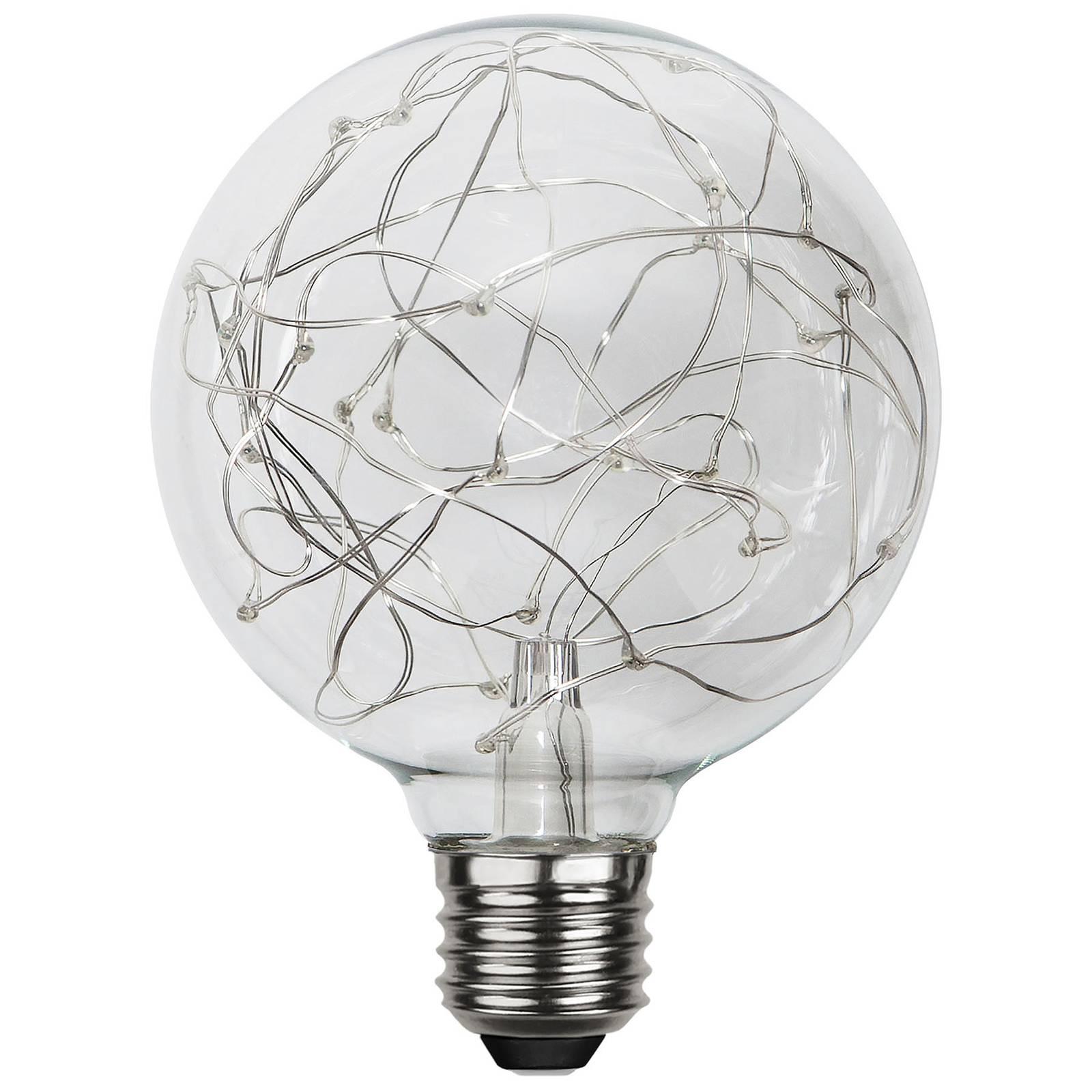 LED-globe-lamppu E27 1,5W G95 Dew Drop 2900K