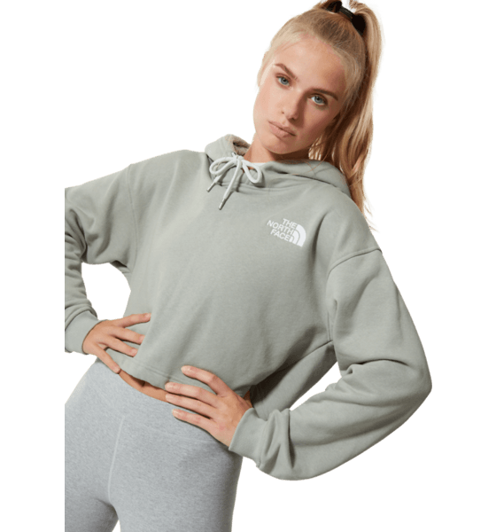 The North Face W Trend Crop Drop P/o Hoodie Hoodies WROUGHT IRON
