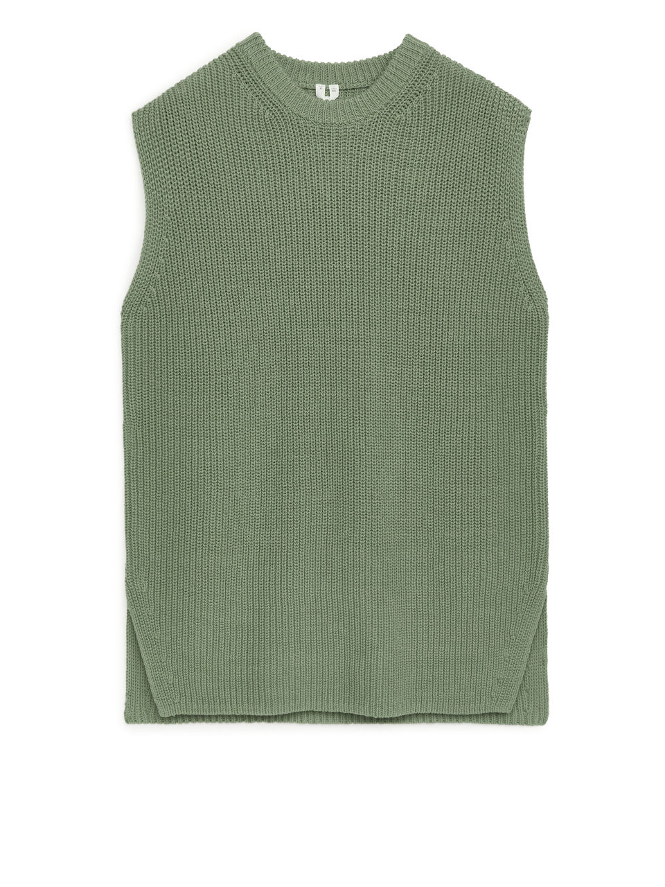 Knitted Vest - Green