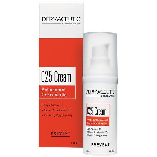 Cream C25 Antioxidant Concentrate, 30 ml Dermaceutic Päivävoiteet