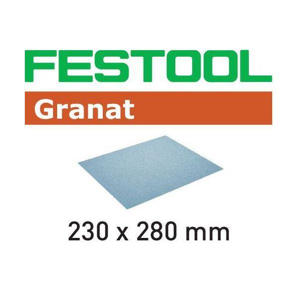 Festool GR Hiomapaperi 230x280mm 10 kpl. P120