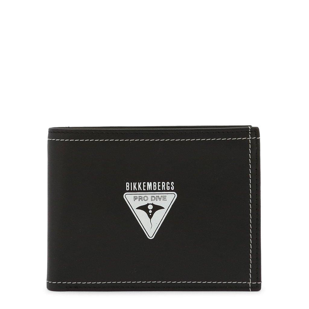 Bikkembergs Men's Wallet Black E2BPME2C3003 - black NOSIZE