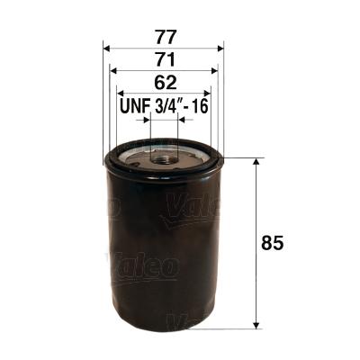 Öljynsuodatin VALEO 586073