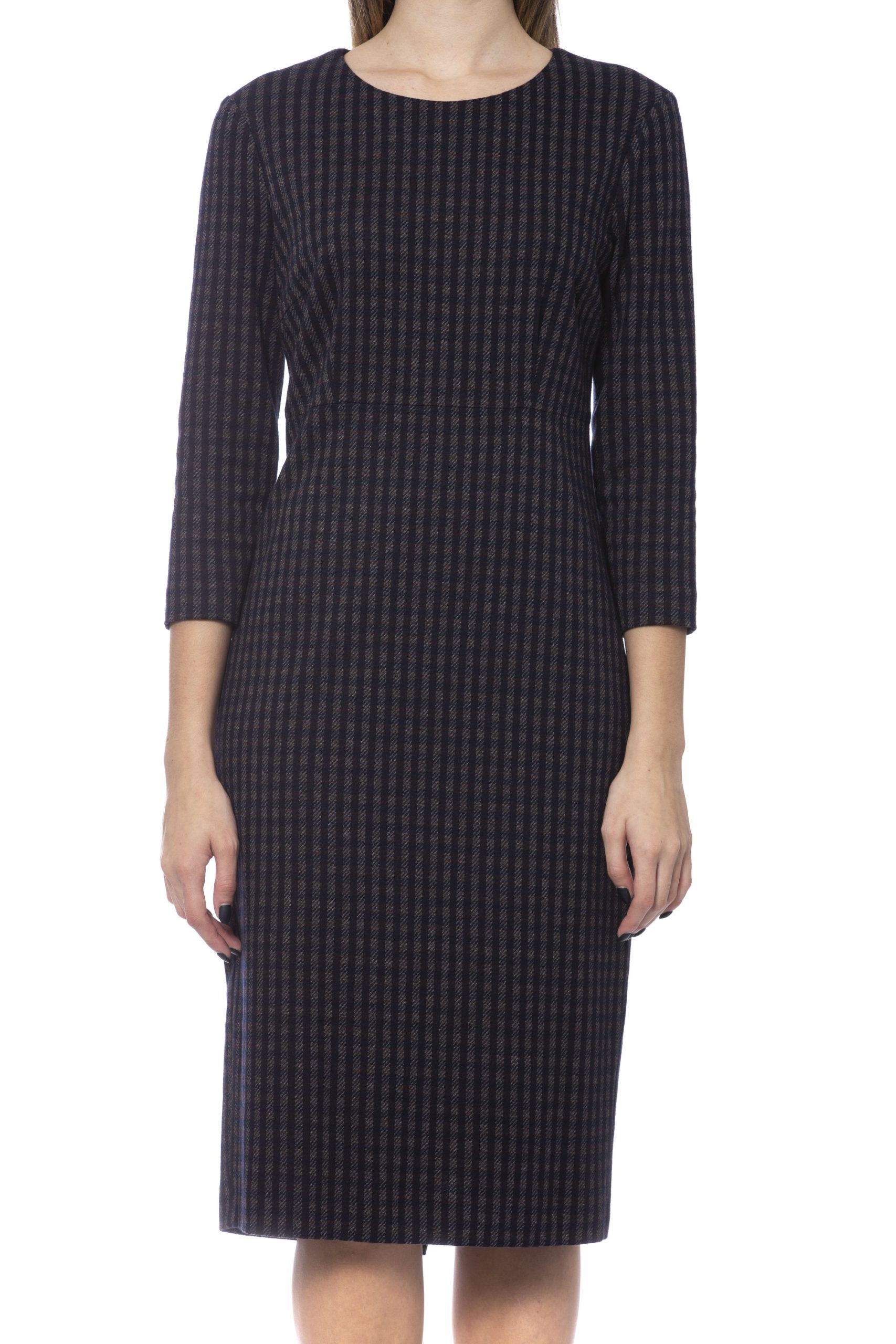 Peserico Women's Dress Blue PE992134 - IT42 | S