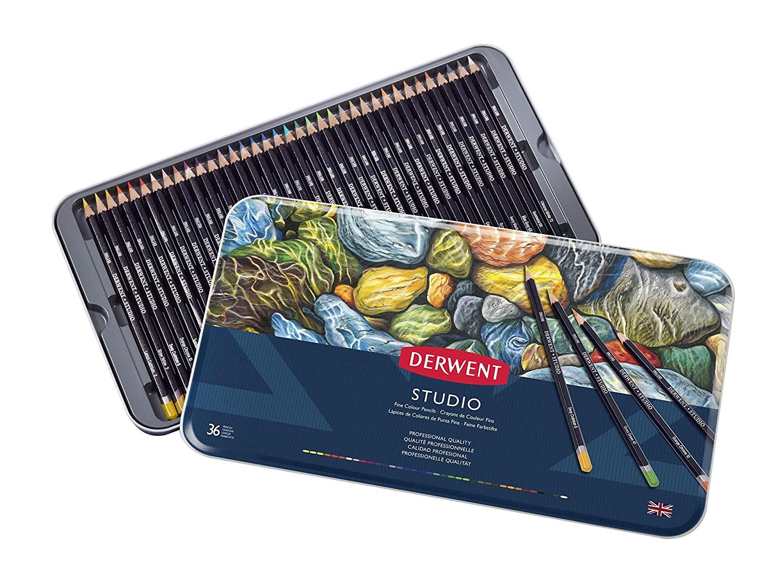 Derwent - Studio Pencils, 36 Tin
