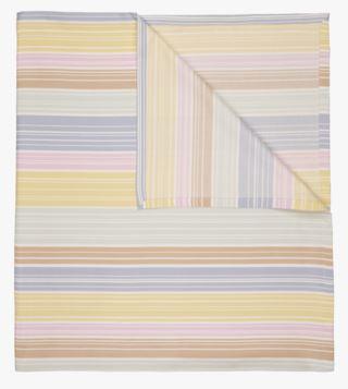 Pastel Stripe pöytäliina moniväri