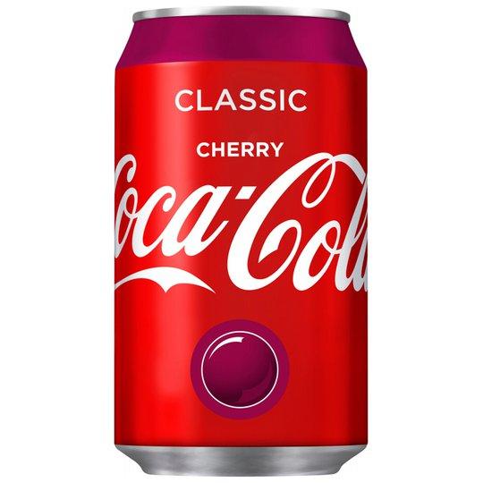 "Virvoitusjuoma ""Coca Cola Cherry"" 33cl - 20% alennus"
