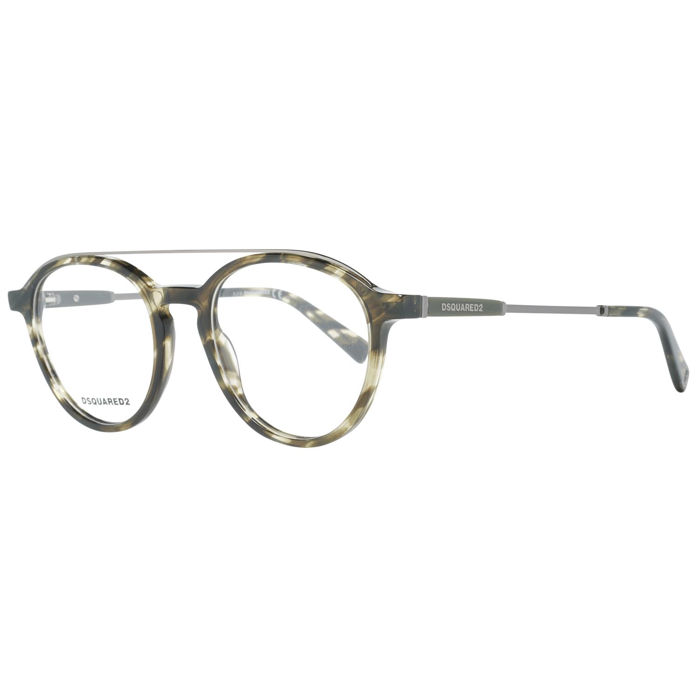 Dsquared² Men's Optical Frames Eyewear Green DQ5277 50095