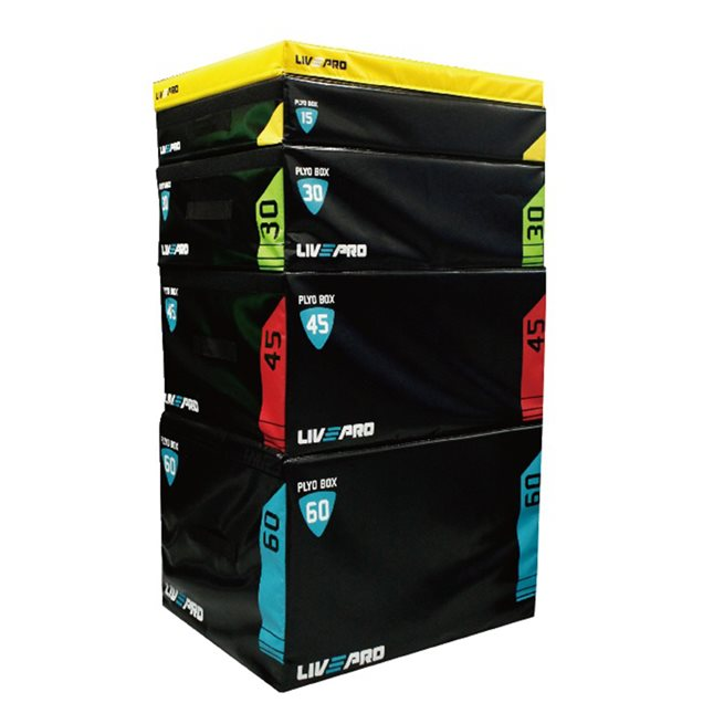 LivePro Soft Plyo Metric Boxes, Plyo Box