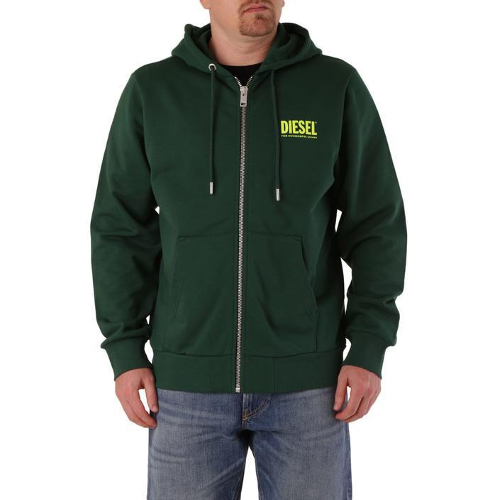 Diesel Men's Sweatshirt Various Colours 294144 - green L