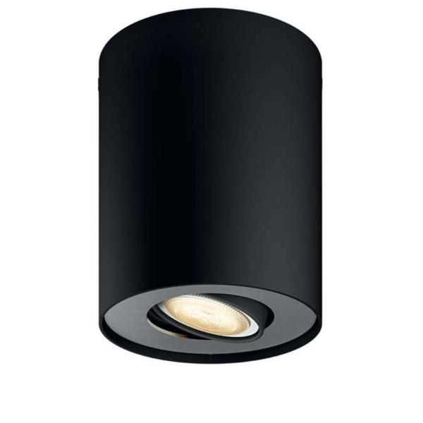Philips Hue - Pillar Hue ext. spot single spot black 1 -White Ambiance Bluetooth