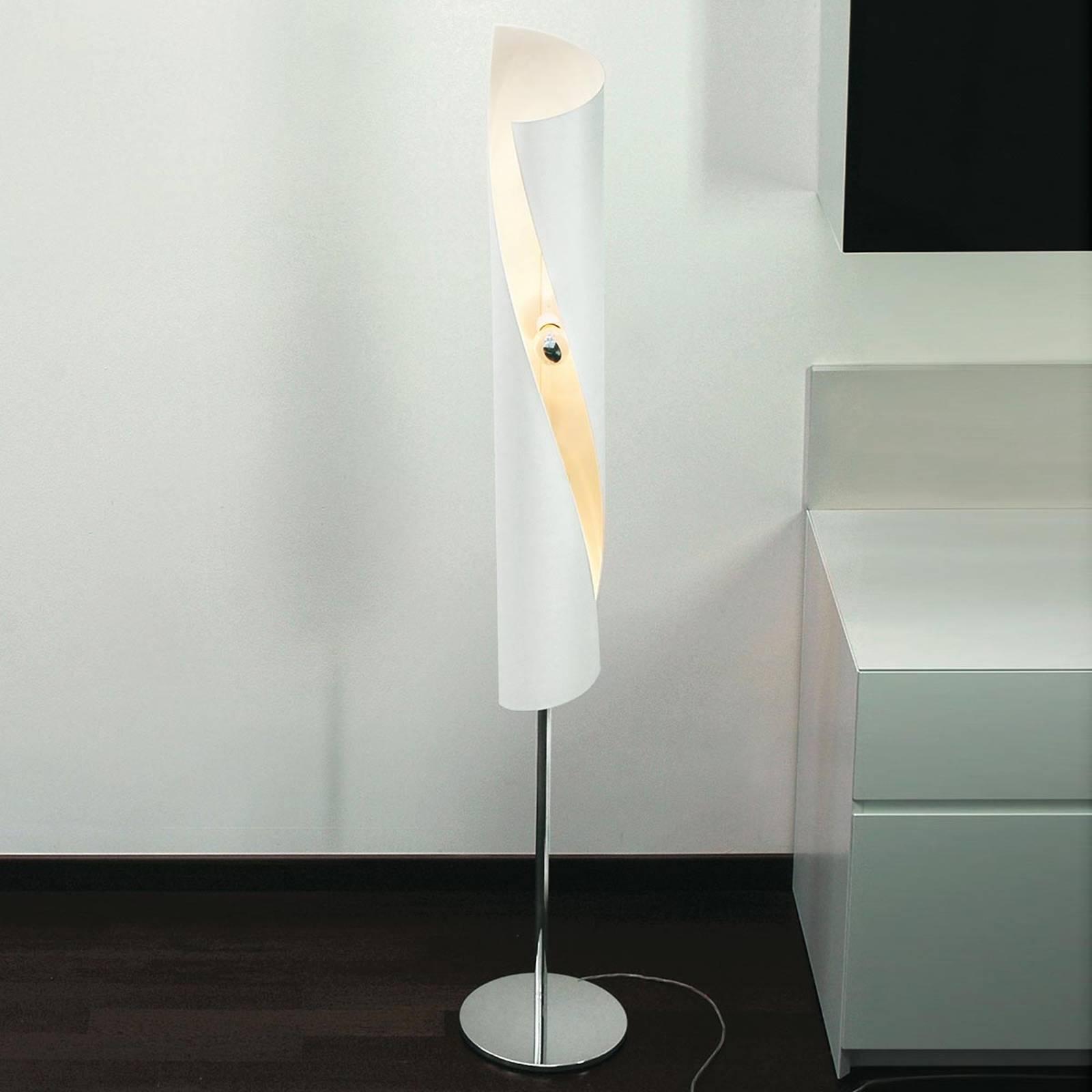 Hué-design-lattiavalaisin valkoisena