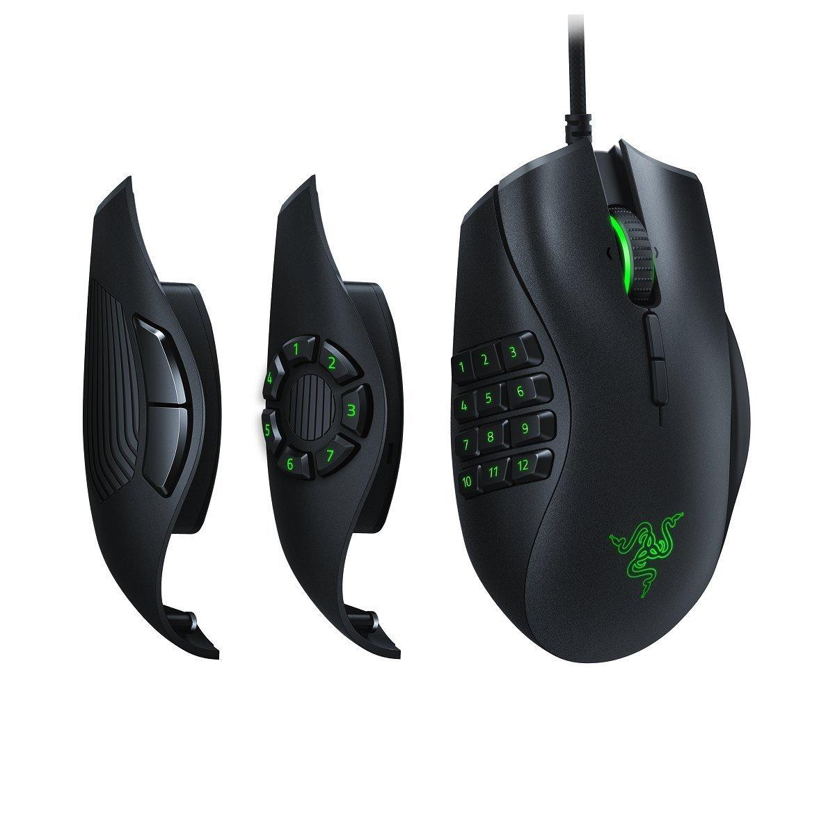 Razer - Naga Trinity MOBA/MMO Gaming Mouse