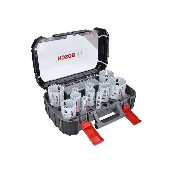 Bosch Carbide Powerchange Reikäsahasarja 13 osaa, 20-76 mm, pituus: 60 mm 20/22/25/32/35/40/44/51/60/64/76
