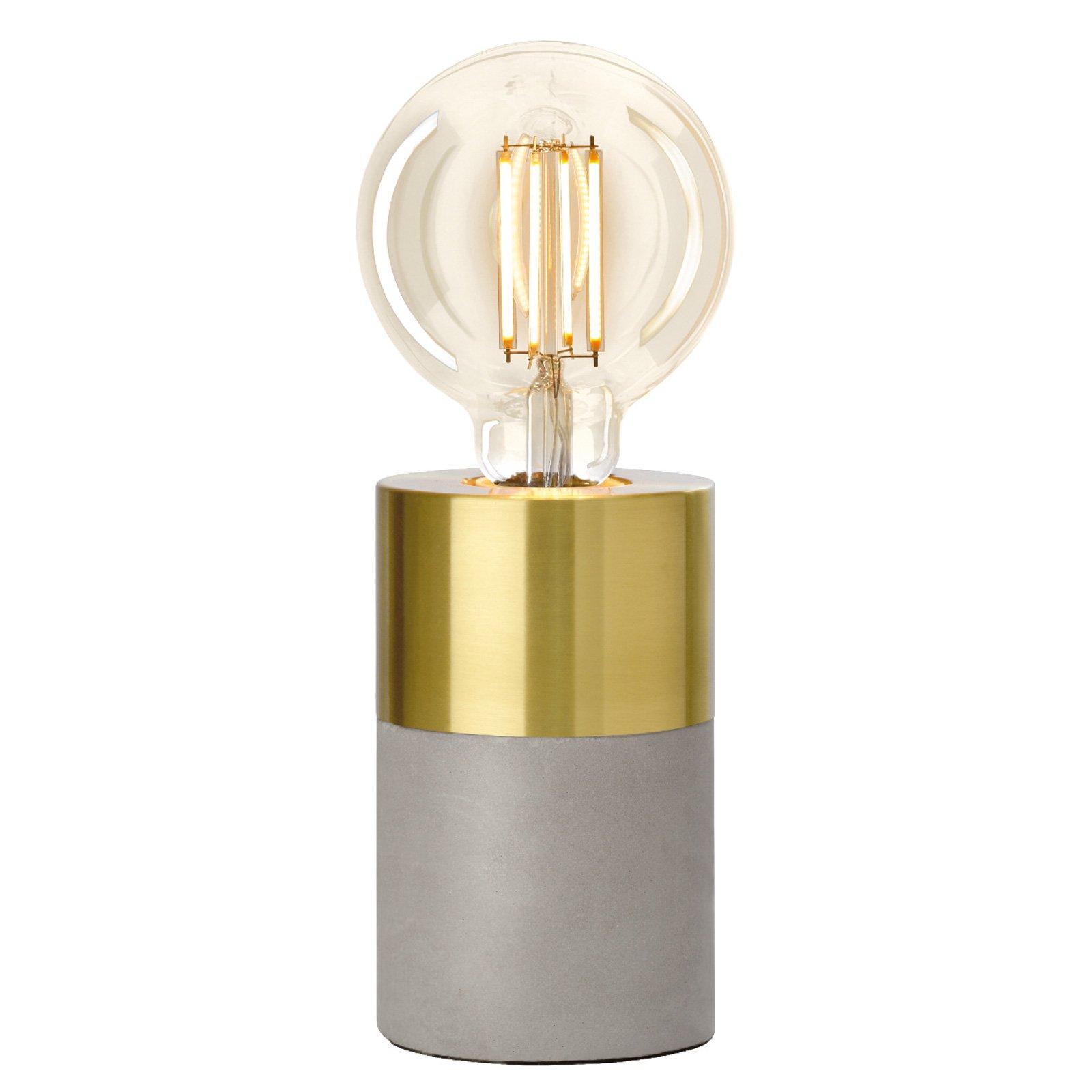 Villeroy & Boch Athen bordlampe i gullstil