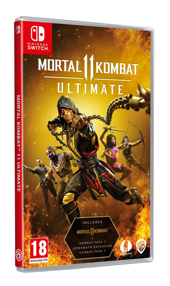 Mortal Kombat 11 Ultimate (Code in a Box)