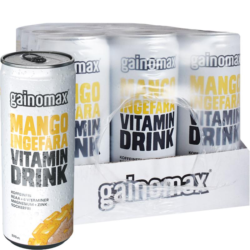 Vitamindryck Mango & Ingefära 12-pack - 74% rabatt