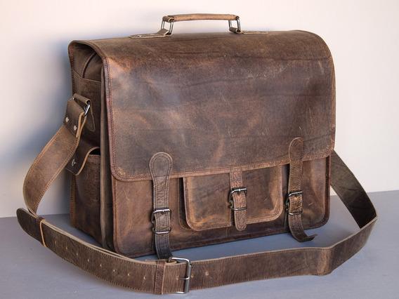 Large Overlander Mens Satchel Bag – Leather 18 Inch 18 Inch